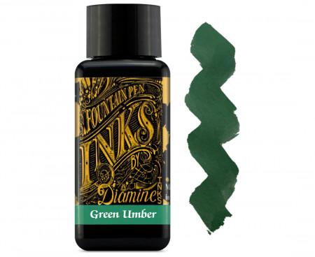 Diamine Ink Bottle 30ml - Green Umber