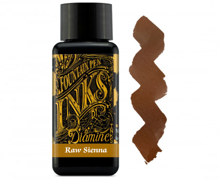 Diamine Ink Bottle 30ml - Raw Sienna