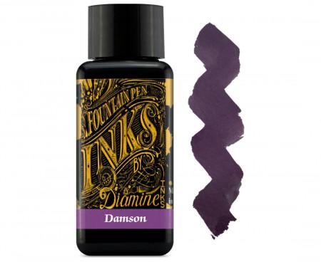Diamine Ink Bottle 30ml - Damson