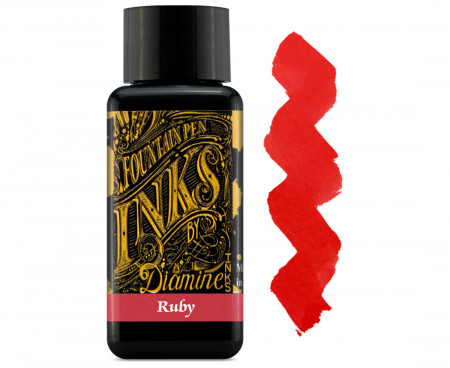 Diamine Ink Bottle 30ml - Ruby