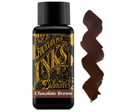 Diamine Ink Bottle 30ml - Chocolate Brown