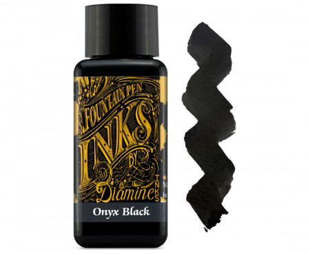 Diamine Ink Bottle 30ml - Onyx Black