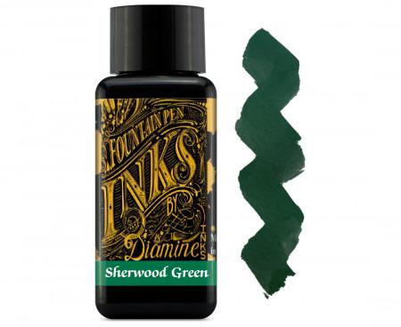 Diamine Ink Bottle 30ml - Sherwood Green
