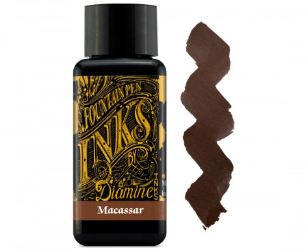 Diamine Ink Bottle 30ml - Macassar