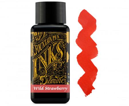 Diamine Ink Bottle 30ml - Wild Strawberry