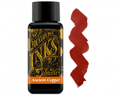 Diamine Ink Bottle 30ml - Ancient Copper
