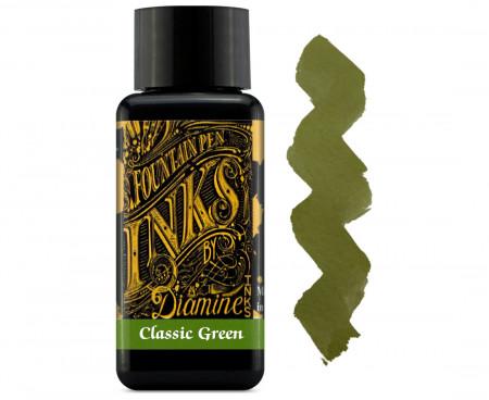 Diamine Ink Bottle 30ml - Classic Green