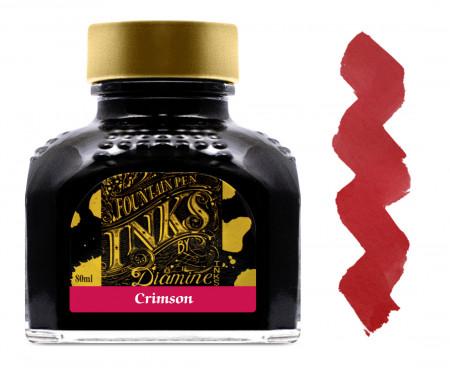 Diamine Ink Bottle 80ml - Crimson