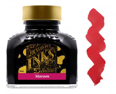 Diamine Ink Bottle 80ml - Maroon