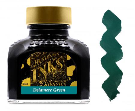 Diamine Ink Bottle 80ml - Delamere Green