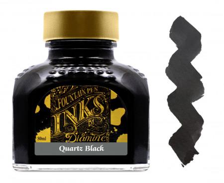 Diamine Ink Bottle 80ml - Quartz Black