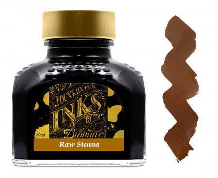 Diamine Ink Bottle 80ml - Raw Sienna