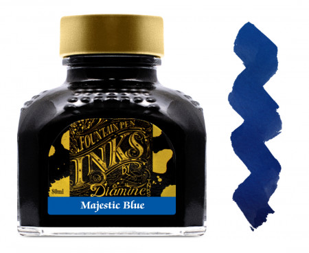 Diamine Ink Bottle 80ml - Majestic Blue
