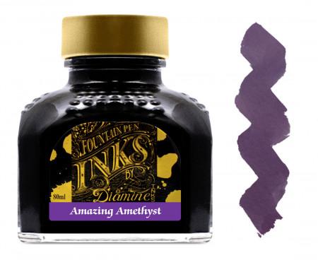 Diamine Ink Bottle 80ml - Amazing Amethyst