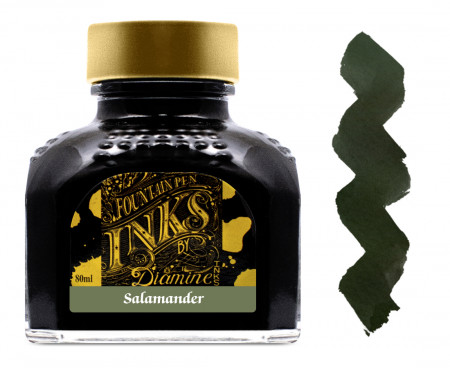 Diamine Ink Bottle 80ml - Salamander