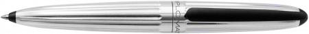 Diplomat Aero Ballpoint Pen - Factory Silver