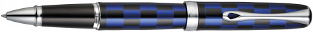 Diplomat Excellence A+ Rollerball Pen - Rome Black & Blue