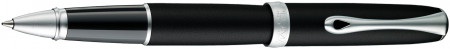 Diplomat Excellence A2 Rollerball Pen - Lapis Black Matte Chrome