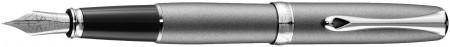 Diplomat Excellence A2 Fountain Pen - Venezia Platin Chrome Trim