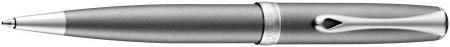 Diplomat Excellence A2 Ballpoint Pen - Venezia Platin Matte Chrome