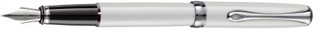 Diplomat Excellence A2 Fountain Pen - Pearl White Chrome Trim