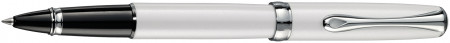 Diplomat Excellence A2 Rollerball Pen - Pearl White Chrome Trim