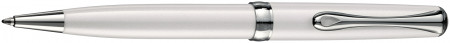 Diplomat Excellence A2 Ballpoint Pen - Pearl White Chrome Trim
