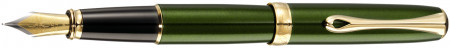Diplomat Excellence A2 Fountain Pen - Evergreen Gold Trim