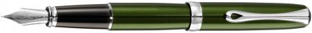 Diplomat Excellence A2 Fountain Pen - Evergreen Chrome Trim