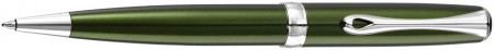 Diplomat Excellence A2 Ballpoint Pen - Evergreen Chrome Trim