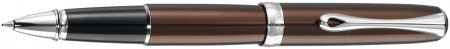 Diplomat Excellence A2 Rollerball Pen - Marrakesh Brown Chrome Trim