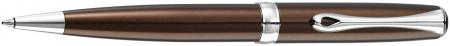 Diplomat Excellence A2 Ballpoint Pen - Marrakesh Brown Chrome Trim