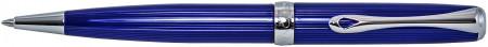 Diplomat Excellence A2 Ballpoint Pen - Skyline Blue Chrome Trim
