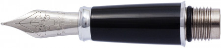 Diplomat Excellence Black Nib - Stainless Steel