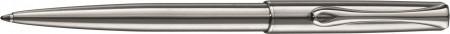 Diplomat Traveller Ballpoint Pen - Stainless Steel Chrome Trim
