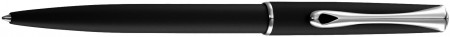 Diplomat Traveller Ballpoint Pen - Lapis Black Chrome Trim