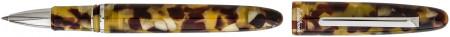 Esterbrook Estie Rollerball Pen - Tortoise Palladium Trim