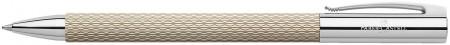 Faber-Castell Ambition OpArt Ballpoint Pen - White Sand