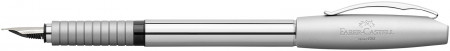 Faber-Castell Basic Fountain Pen - Polished Chrome