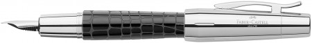 Faber-Castell e-motion Fountain Pen - Croco Black