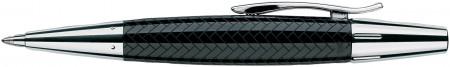 Faber-Castell e-motion Ballpoint Pen - Parquet Black