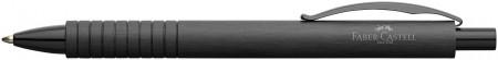 Faber-Castell Essentio Ballpoint Pen - Black Aluminium