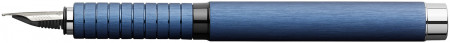 Faber-Castell Essentio Fountain Pen - Blue Aluminium