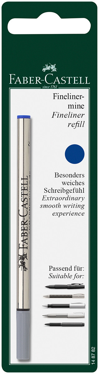 Faber-Castell Fineliner Refill - Blue