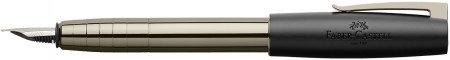 Faber-Castell Loom Fountain Pen - Shiny Gunmetal