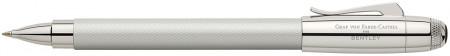 Graf von Faber-Castell for Bentley Rollerball Pen - White Satin