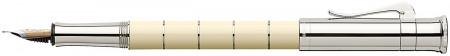 Graf von Faber-Castell Classic Anello Fountain Pen - Ivory Platinum Trim