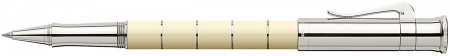 Graf von Faber-Castell Classic Anello Rollerball Pen - Ivory Platinum Trim