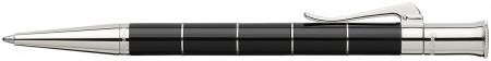 Graf von Faber-Castell Classic Anello Ballpoint Pen - Black Platinum Trim