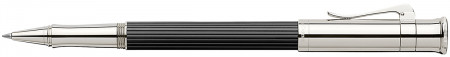 Graf von Faber-Castell Classic Rollerball Pen - Ebony Platinum Plated